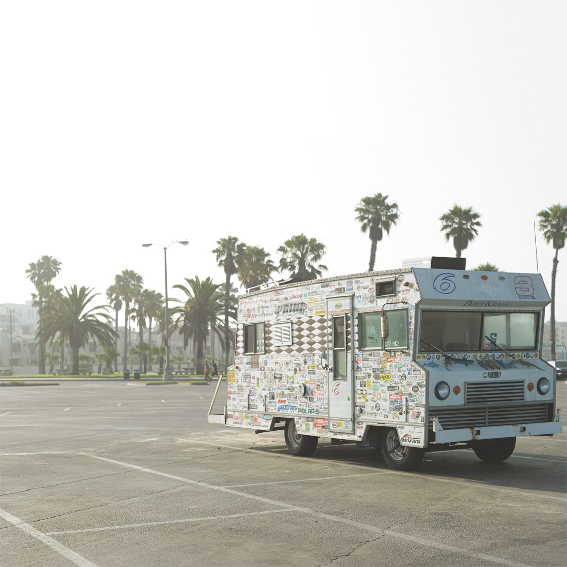 Santa Monica Parking Lot RV Lindsay Siu Photographer Commercial Editorial Advertising Photography Vancouver