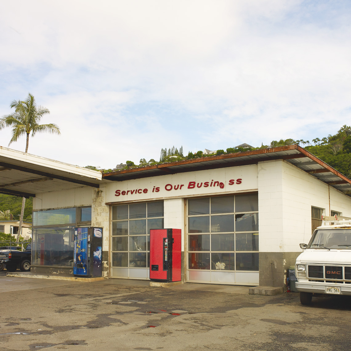 north shore oahu - service station