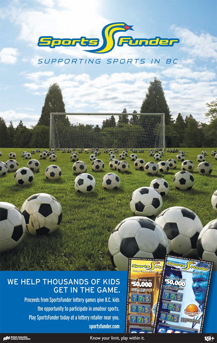 Lindsay Siu Photographer Vancouver Cossette Advertising BCLC Sportsfunder soccer balls poster layout.jpg